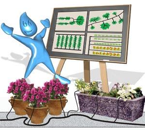 Планирование и проектирование системы капельного полива
